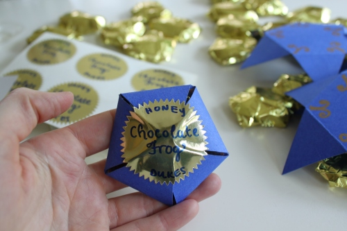 Honeyduke's Chocolate Frog Box