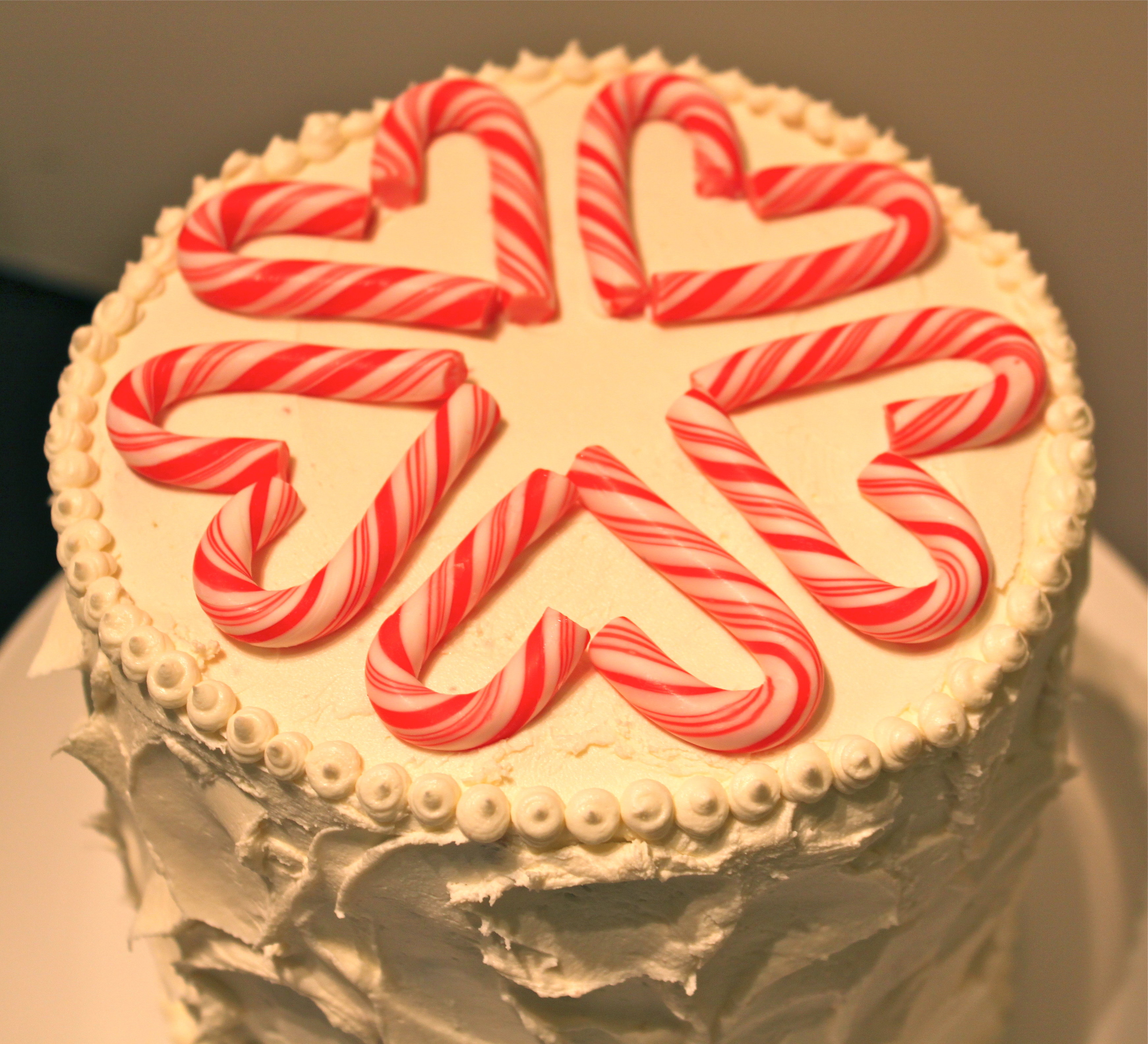 Candy Cane Sled Gift Idea